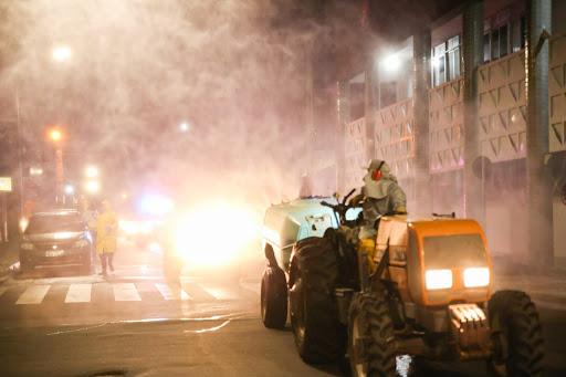 Guaraí terá desinfecção de áreas públicas com maquinários cedidos por empresa privada
