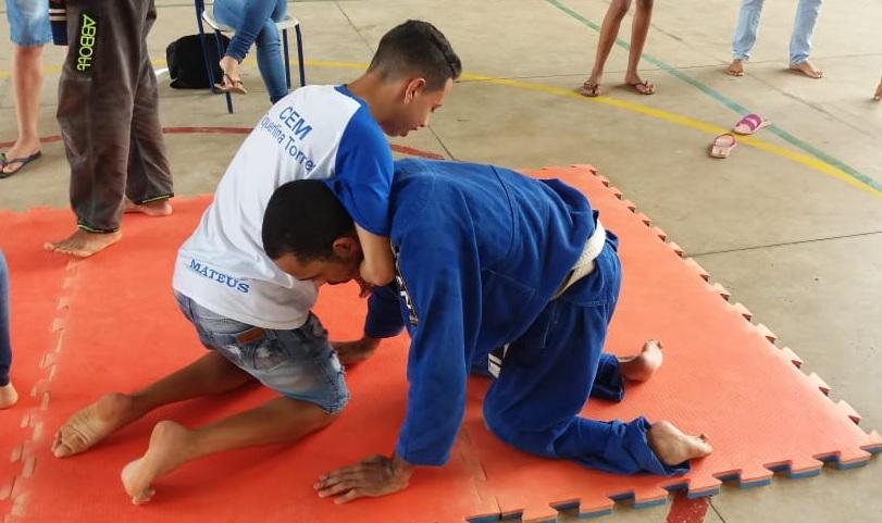 Foto: Divulgação/CEMOT - Diego encontrou no esporte, em especial na prática do jiu-jitsu, uma forma de utilizar o potencial completo de seu corpo.