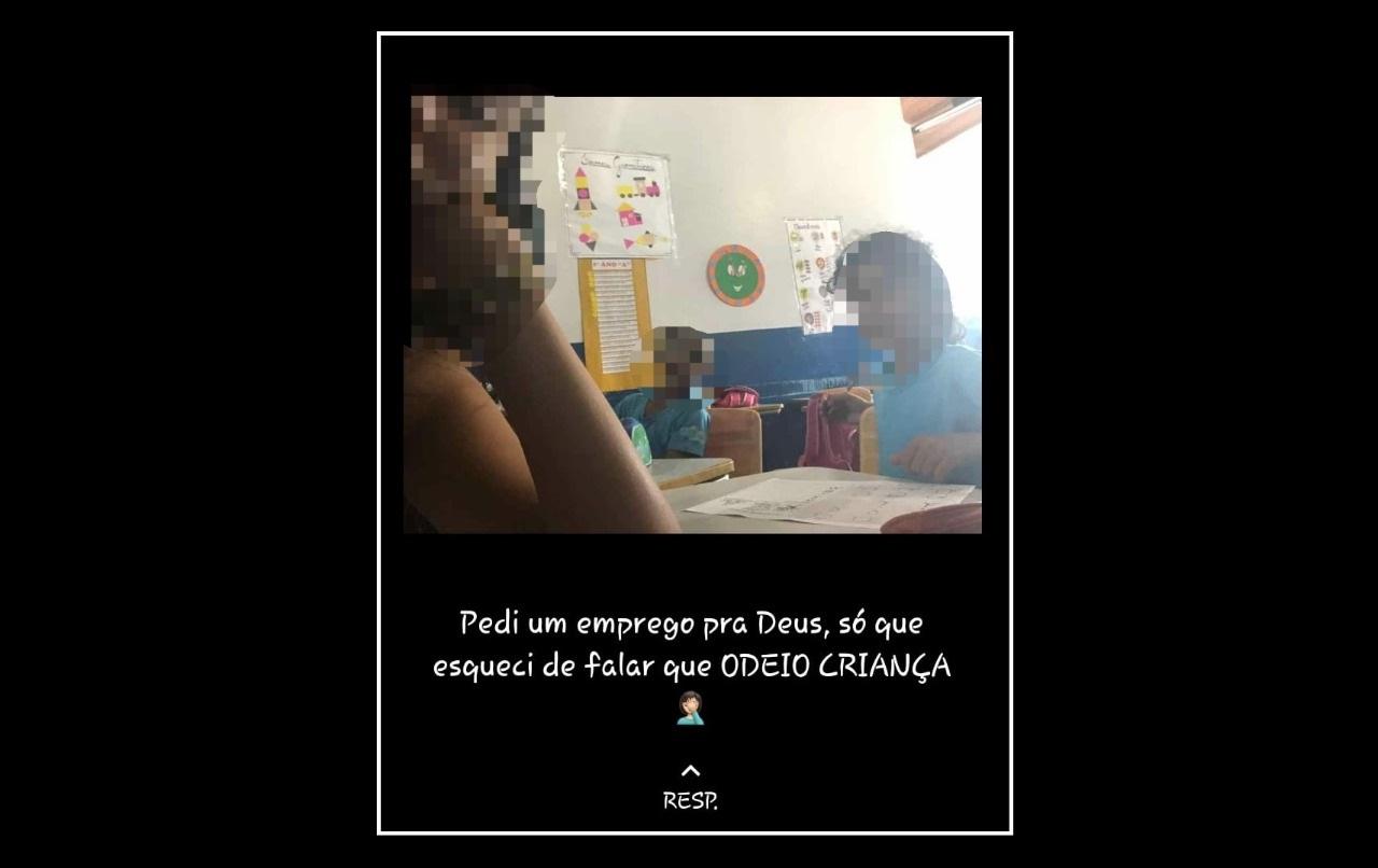 Frase no status do WhatsApp causa demissão de estagiária que atuava em escola de Guaraí