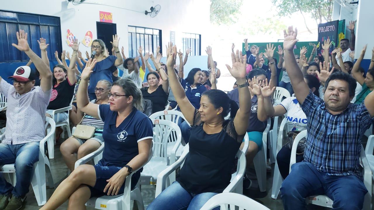 """Educadores de Guaraí encerram """"operação tartaruga"""" e anunciam greve geral após o Carnaval"""
