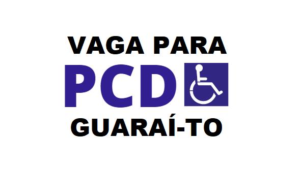 Transportadora contrata pessoa com deficiência (sem experiência) para vaga em Guaraí
