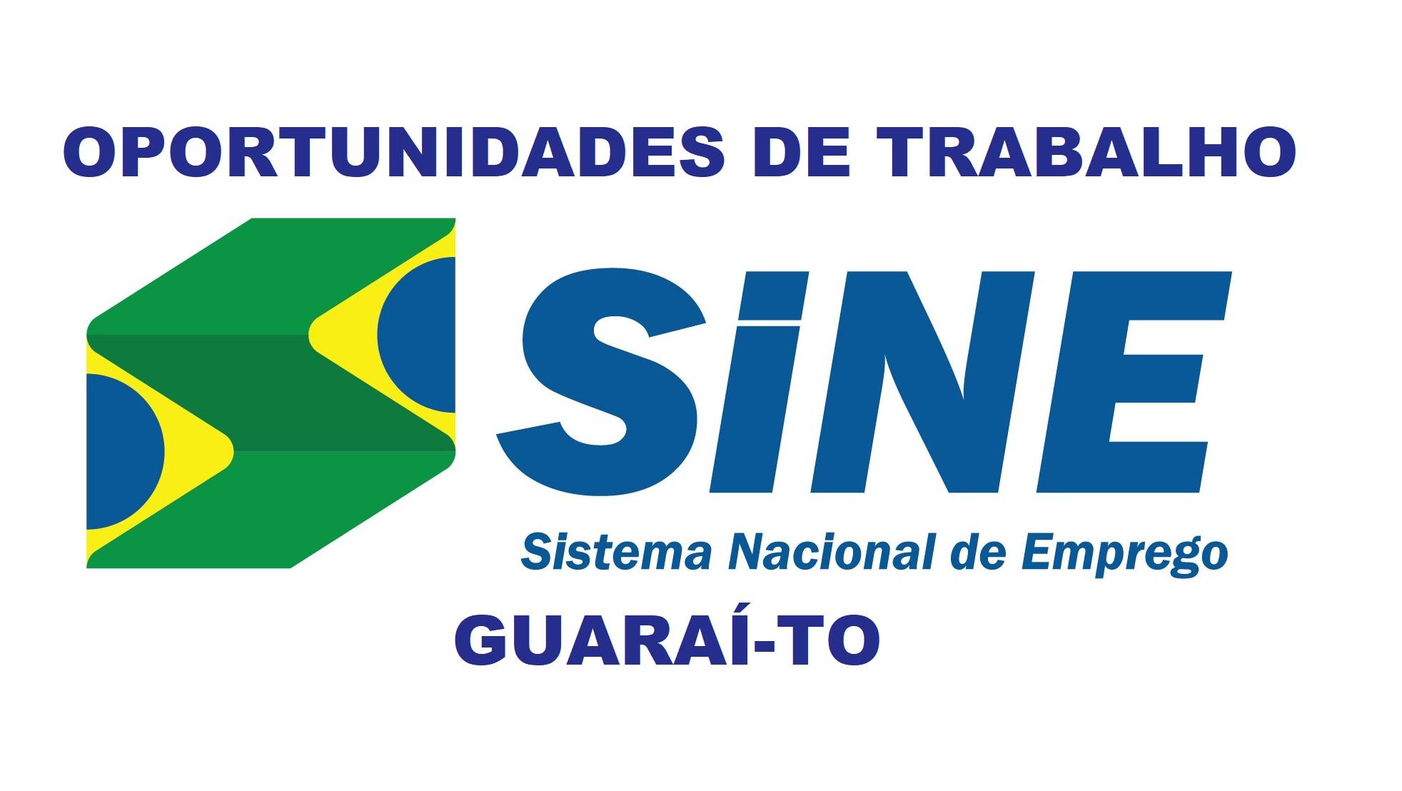 SINE de Guaraí oferta vagas para vidraceiro, vaqueiro, encarregado e ajudante de obras