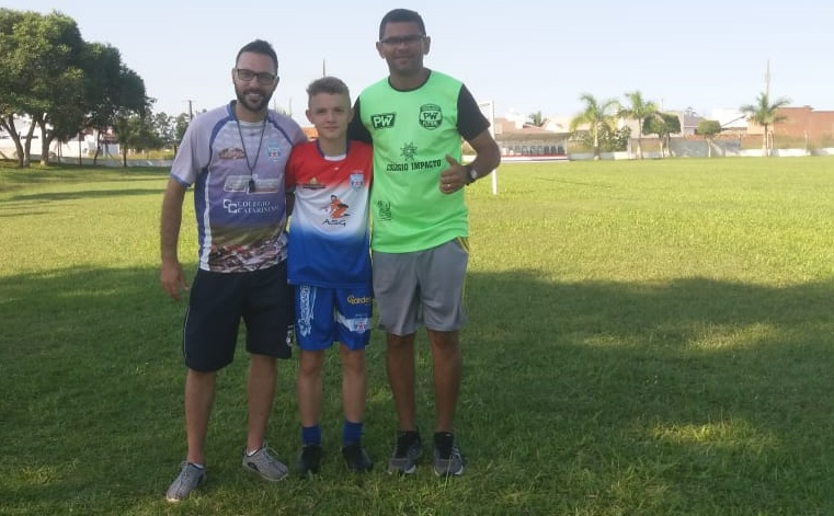 Guaraiense é selecionado para atuar em projeto que revelou Luiz Adriano e Douglas Costa