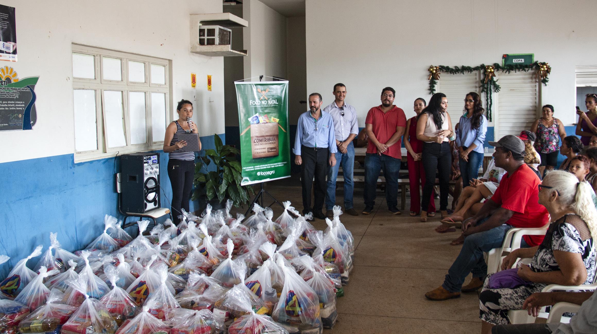 Empresa criada em Guaraí distribui mais de 12 toneladas de alimentos para famílias carentes