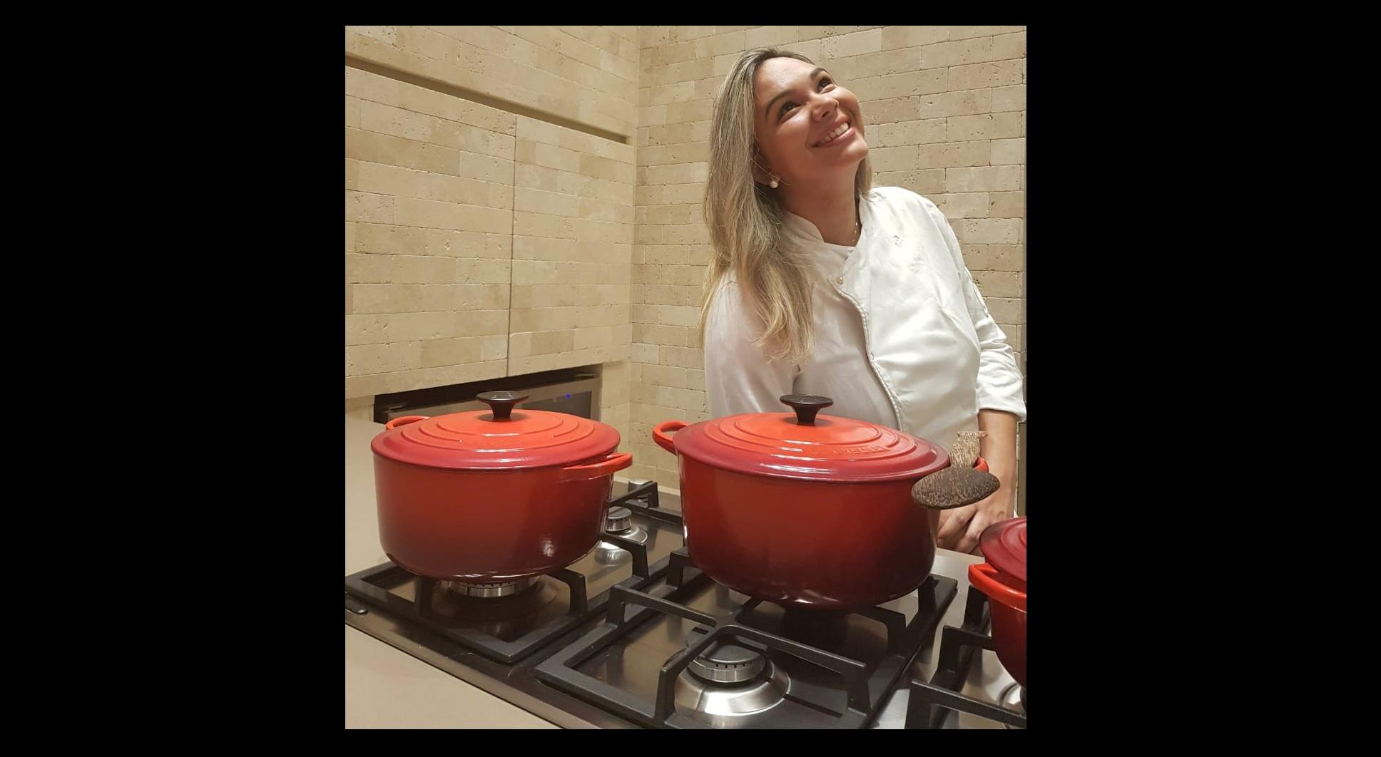 Foto: Divulgação/Arquivo Pessoal - Formada em gastronomia pela Universidade Anhembi Morumbi de São Paulo-SP, a chef Mayla Araújo atendeu um convite do Guaraí Notícias para apresentar uma receita prática de chambari.