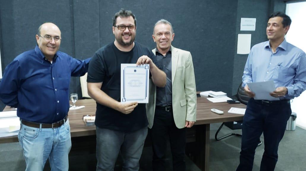 Pela primeira vez, representante do município de Guaraí toma posse como conselheiro do CRA/TO