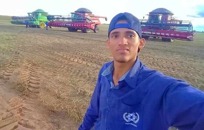 Foto: Arquivo Pessoal - Fablo Wgenys Pereira Cardoso, de apenas 25 anos, havia se formado em Guaraí no ano passado e estava trabalhando como agrônomo de uma fazenda no município de Santa Fé do Araguaia. Ele é natural de Itacajá.