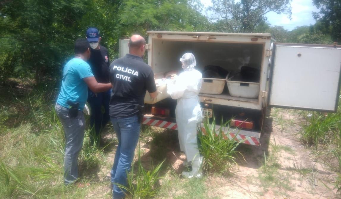 Corpos de dois rapazes e uma mulher grávida são encontrados próximo à Ferrovia Norte-Sul