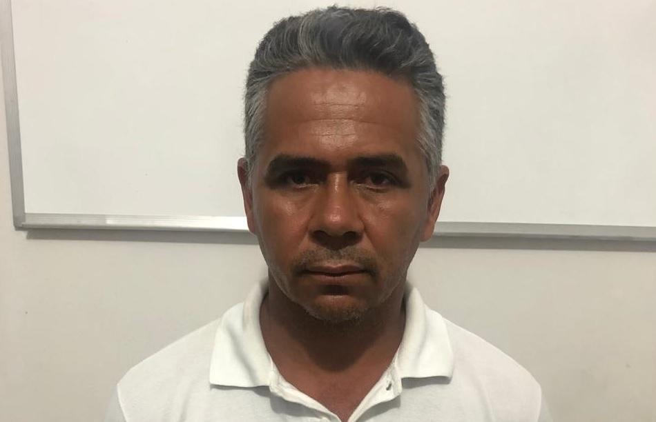 Foto: Divulgação/Arquivo da Polícia Civil do Pará - Jonildo Antônio Alves Oliveira, de 41 anos, estava em caminhonete interceptada no posto da PRF de Guaraí. Em novembro de 2014, o suspeito já havia sido preso no mesmo local.