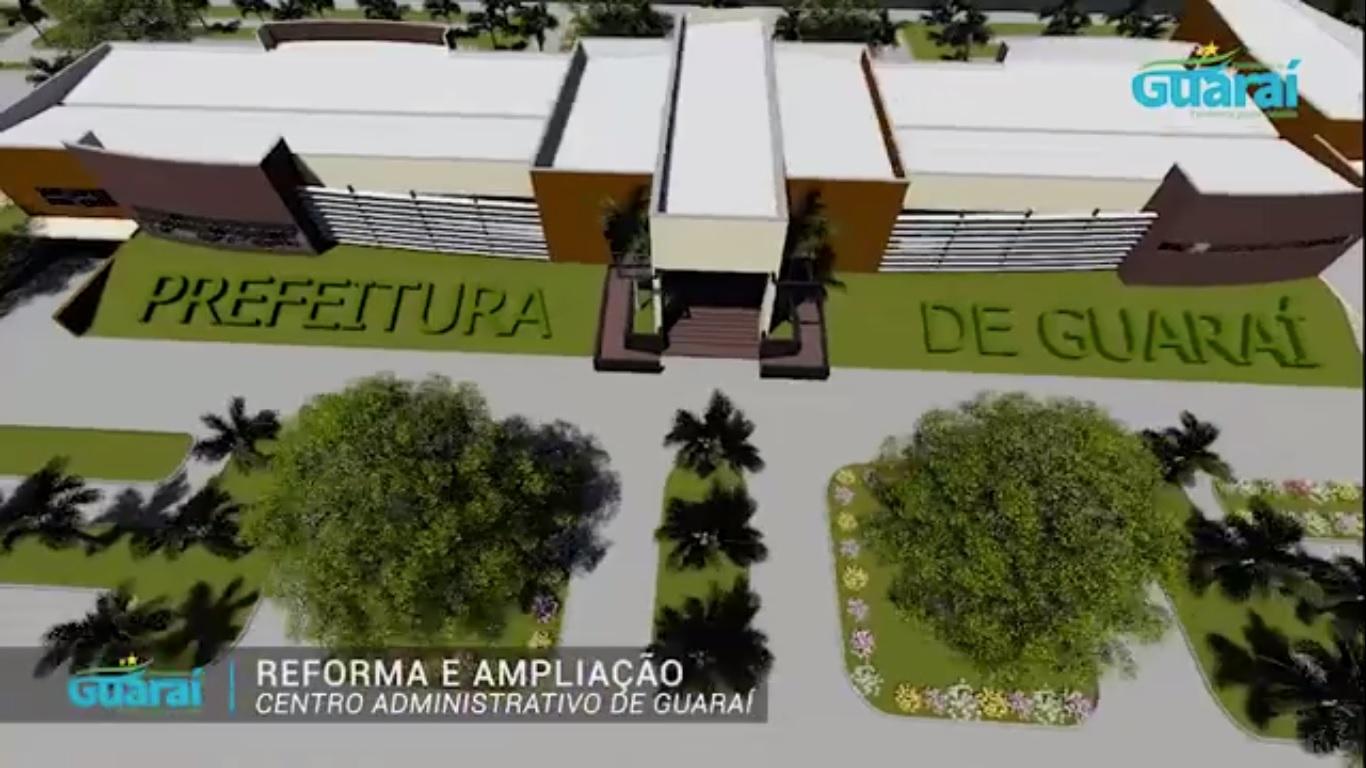 Prefeitura de Guaraí apresenta projeto de reforma e ampliação do centro administrativo