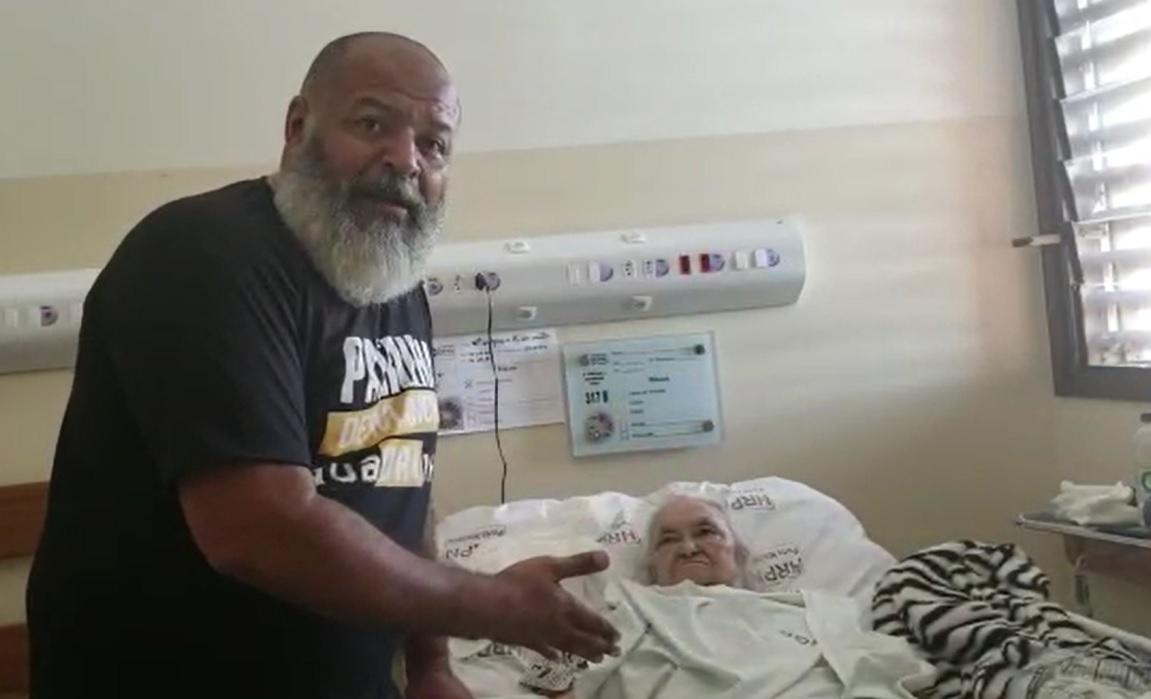 Pastor Nelcivan grava novo vídeo pedindo ajuda para idosa guaraiense internada no HGP