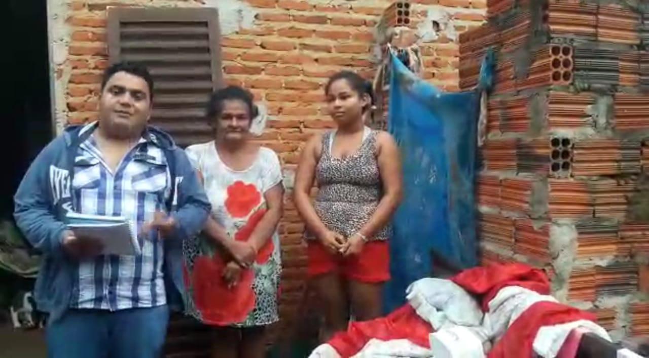 Campanha para ajudar moradora de Guaraí que sobrevive com R$ 230,00 por mês; veja vídeo