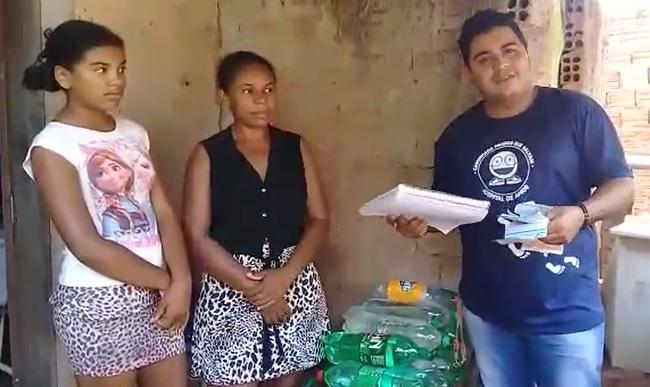 """""""Cowboy Solidário"""" conta a história de mãe com 4 filhos que precisa de ajuda em Guaraí"""