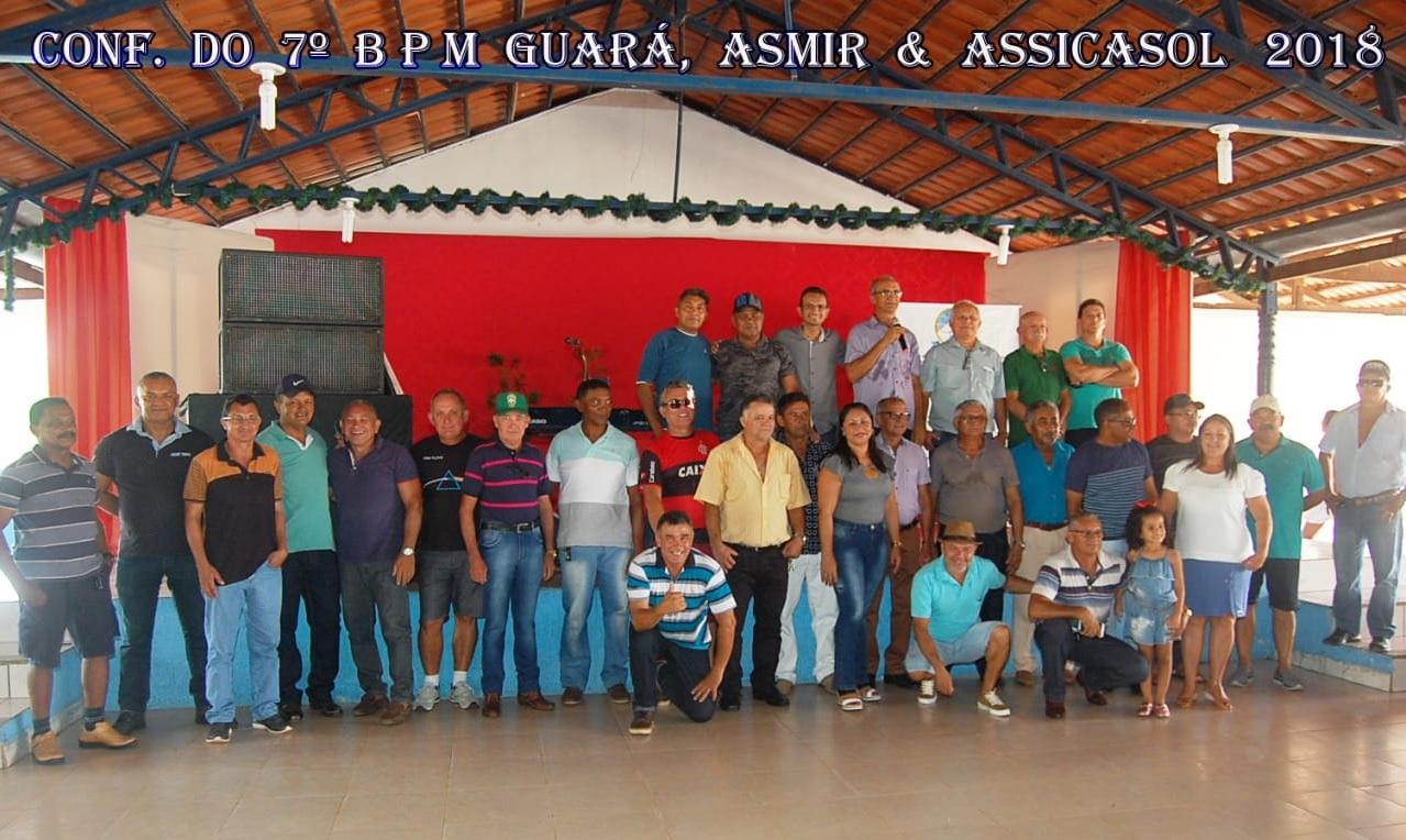 Militares da ativa e reserva celebram fim de ano com confraternização na AABB de Guaraí