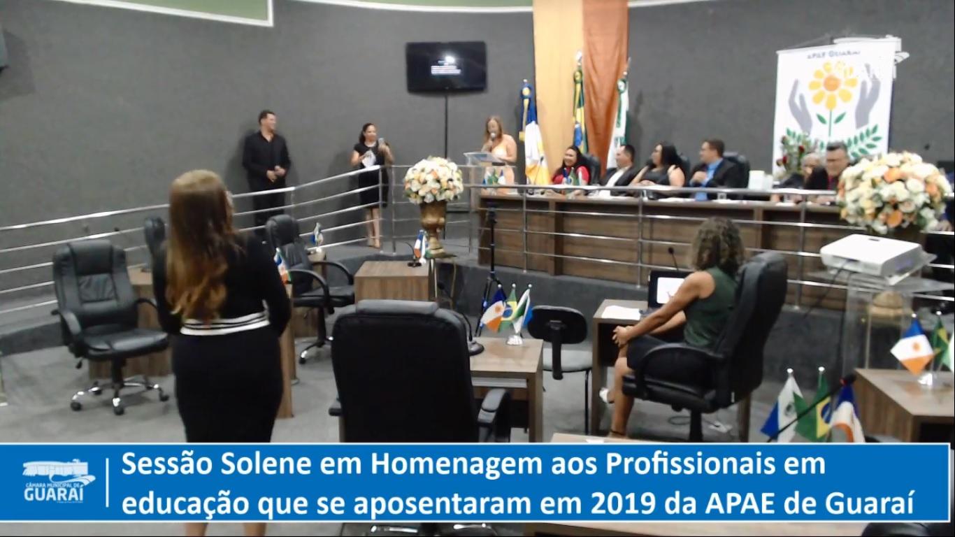 APAE de Guaraí homenageia educadoras que atuaram na instituição e se aposentaram em 2019