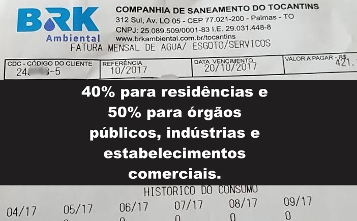 Prefeitura envia para Câmara de Vereadores lei que reduz tarifa abusiva de esgoto em Guaraí