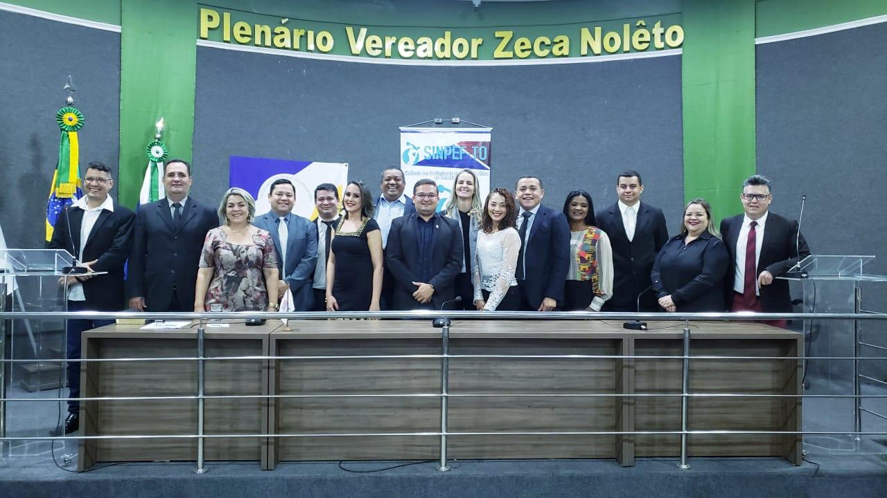 Sessão solene homenageia profissionais de Educação Física atuantes no município de Guaraí