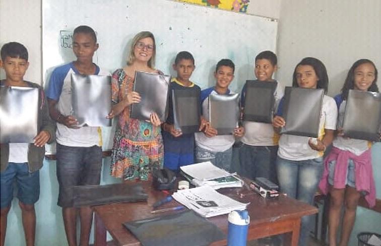 """""""Projeto da Pastinha"""" estimula hábito da leitura entre alunos do Colégio Militar de Guaraí"""
