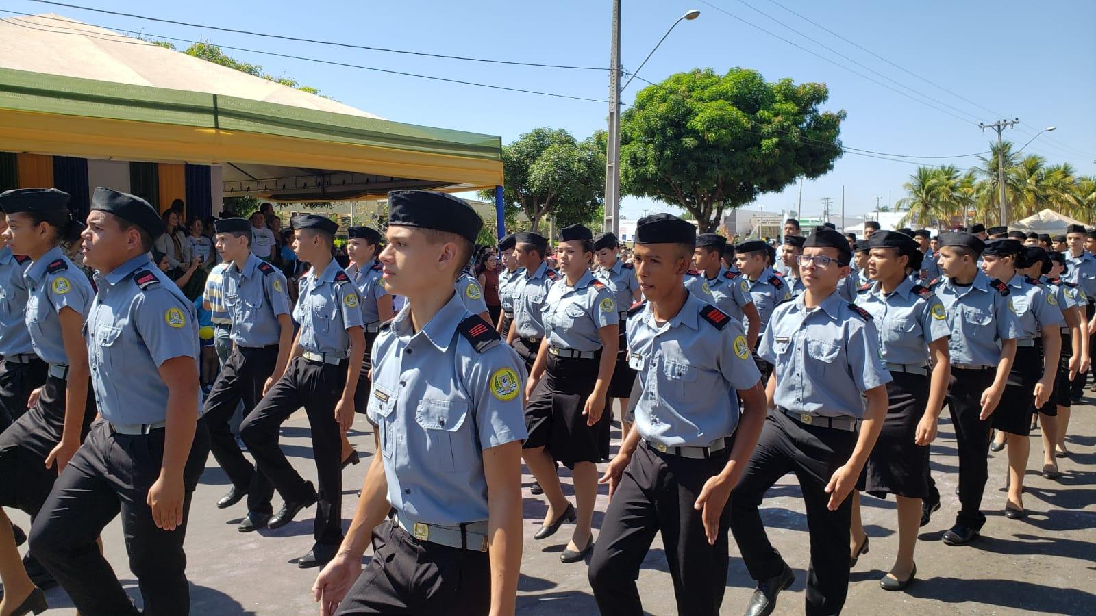 Governo volta atrás e muda mais uma vez a nomenclatura dos colégios militares do Tocantins