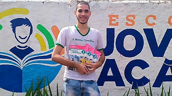 Estudante matriculado em unidade estadual de Guaraí conquista bronze na 15ª edição da OBMEP