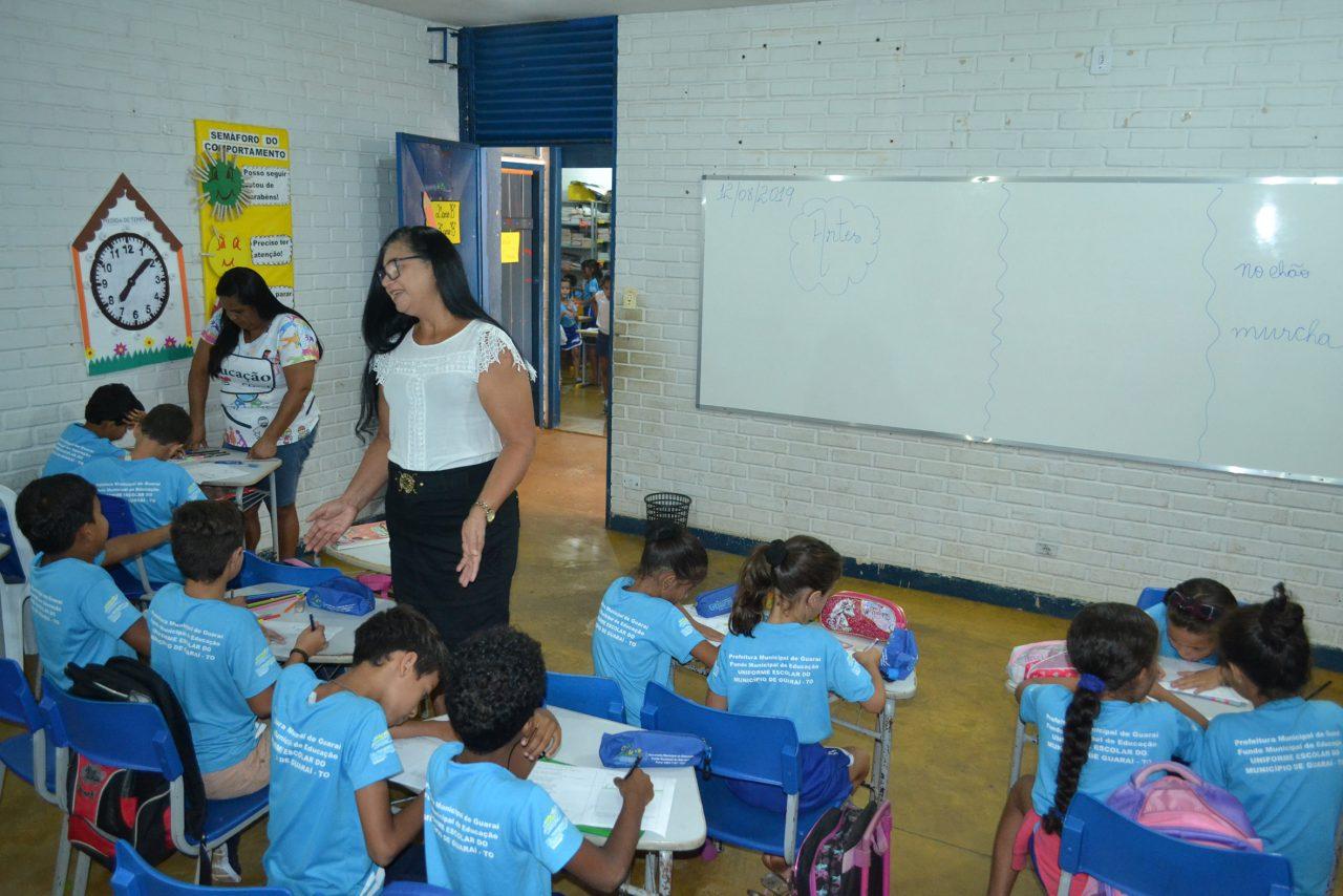 Prefeitura de Guaraí quer oferecer gratificação para professores que atuam em sala de aula