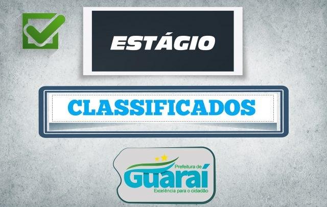 Divulgada lista com 75 classificados no seletivo para estágio remunerado da Prefeitura de Guaraí