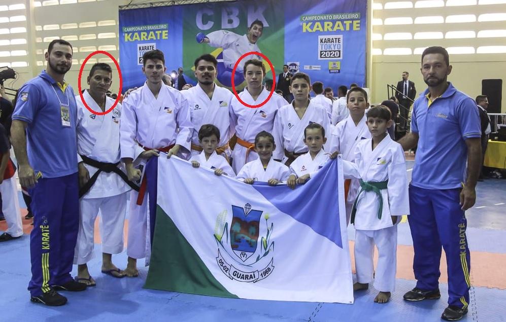 Guaraienses conquistam medalhas de prata e bronze durante 3ª etapa do Brasileiro de Karatê