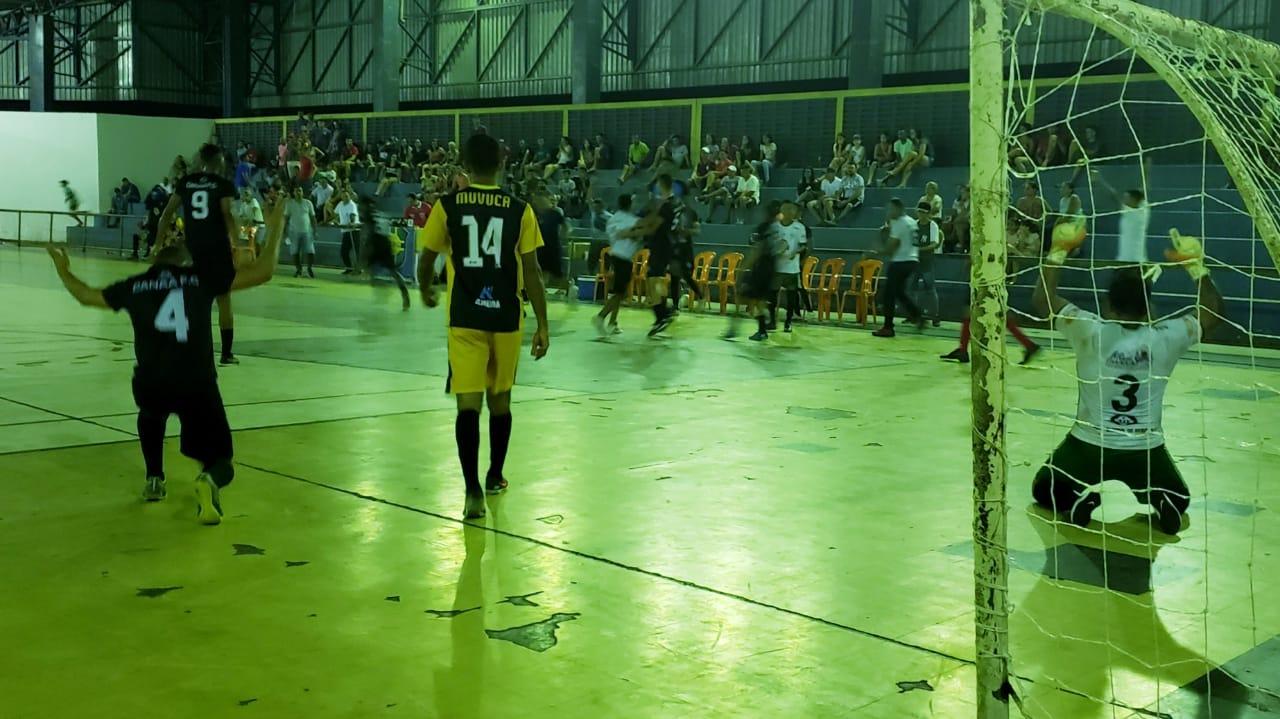 Canaã F.C. faz história e vence equipe 9 vezes campeã do Municipal de Futsal de Guaraí