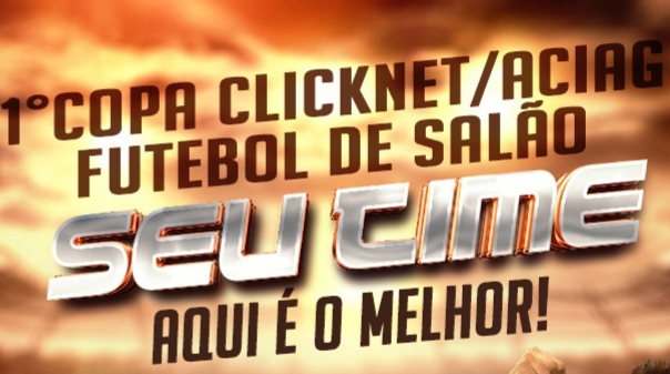 ClickNet e ACIAG promovem 1º Regional de Futebol de Salão em Guaraí a partir de 02/12