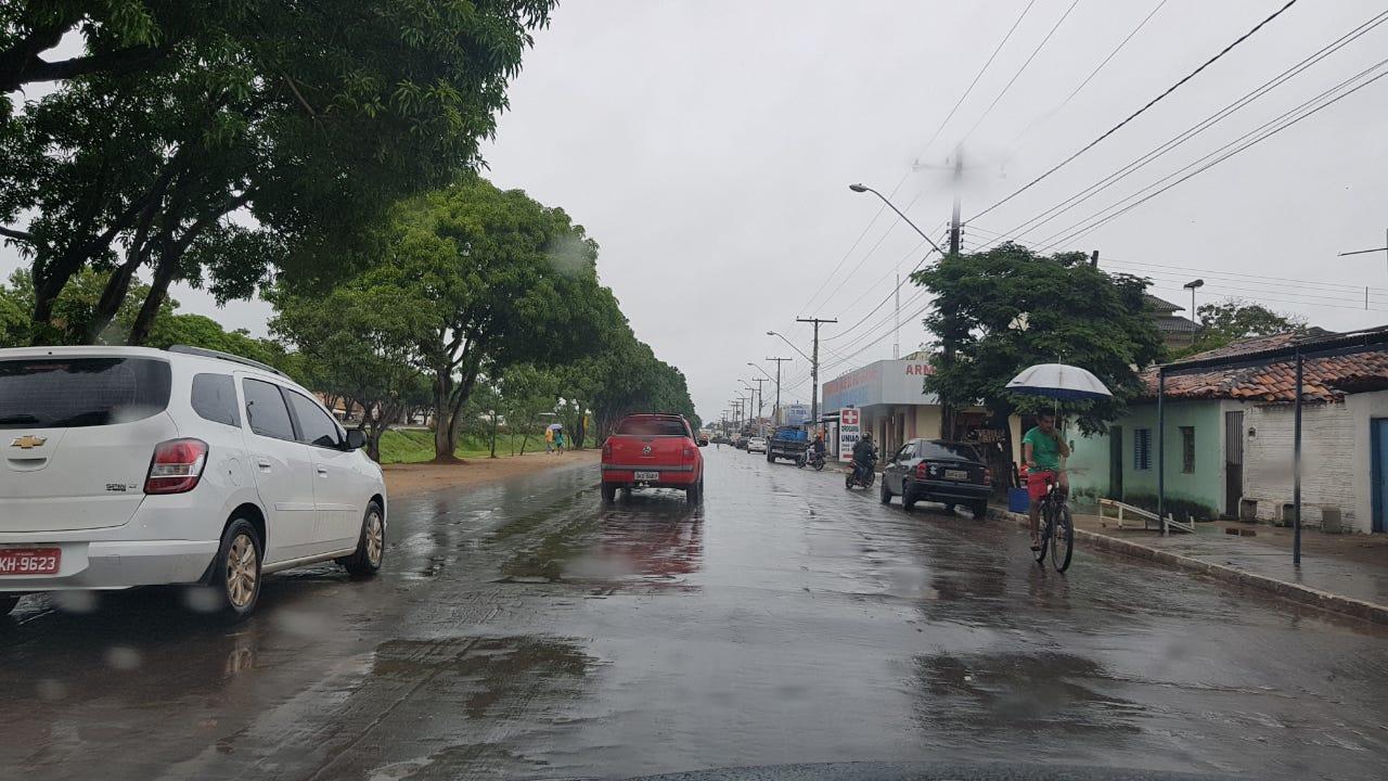 Mês de julho/2019 começa com chuvas registradas em Guaraí e outras cidades do Tocantins