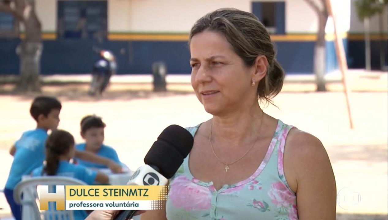 História de educadora voluntária que atua na zona rural de Guaraí repercute em rede nacional