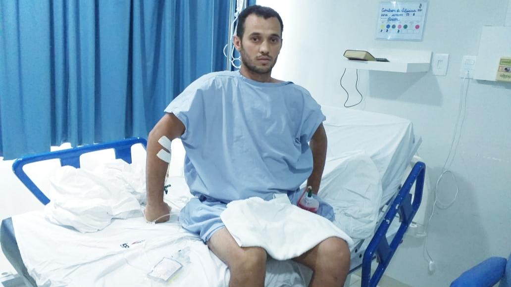 Campanha solidária em favor de guaraiense que sofreu grave acidente arrecada R$ 43 mil
