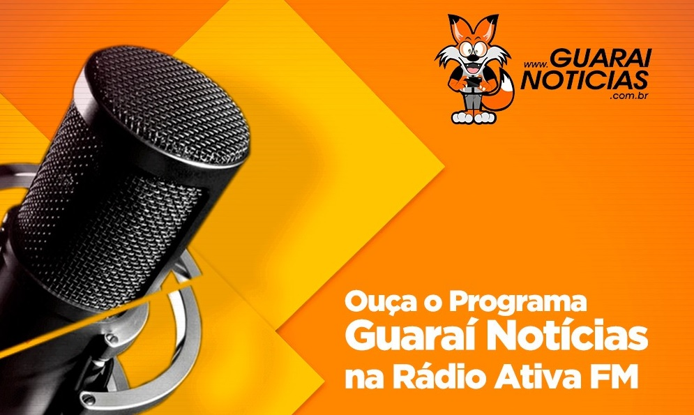 Foto: Divulgação - Ouça o Guaraí Notícias no rádio; sintonize 87,9MHz no seu rádio FM ou se preferir acompanhe pelo site http://radioativa87fm.com - de segunda a sexta-feira, a partir do meio dia.