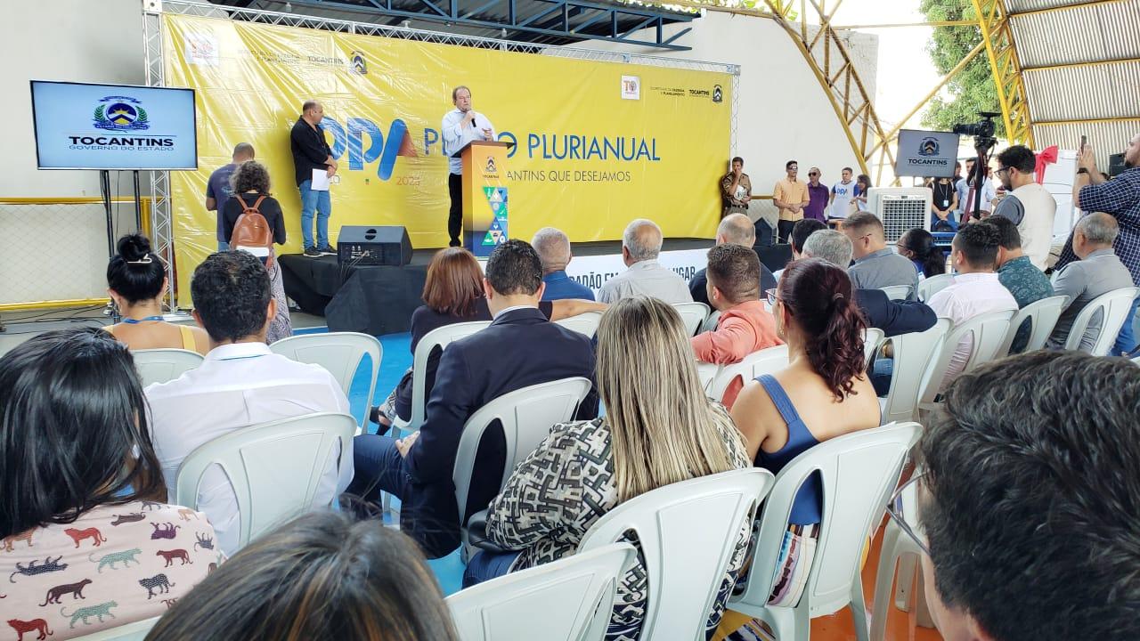 Governo do Estado debate prioridades durante discussão do PPA 2020/2023 em Guaraí