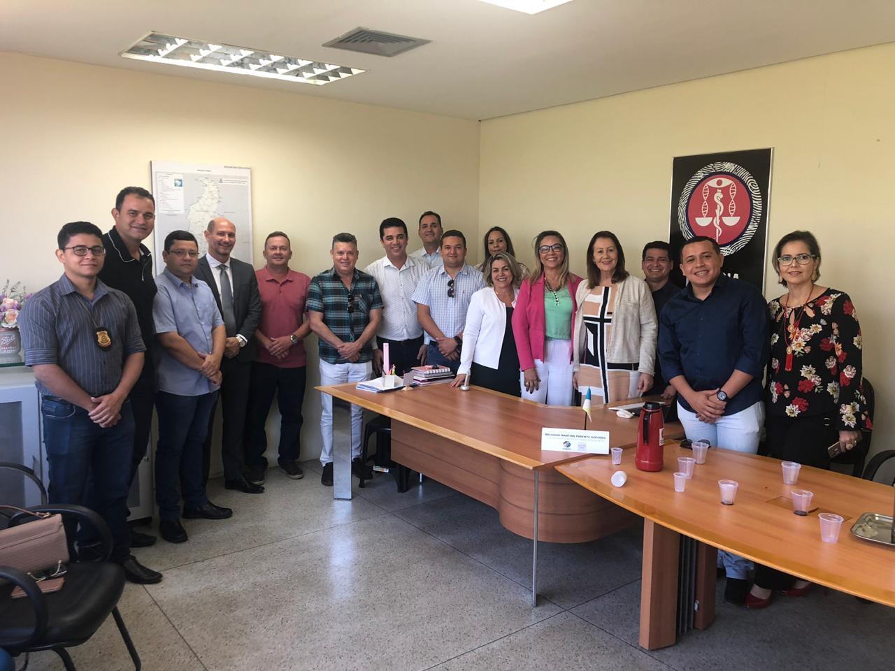 Durante reunião com prefeita e vereadores, SSP/TO garante que IML não será fechado em Guaraí