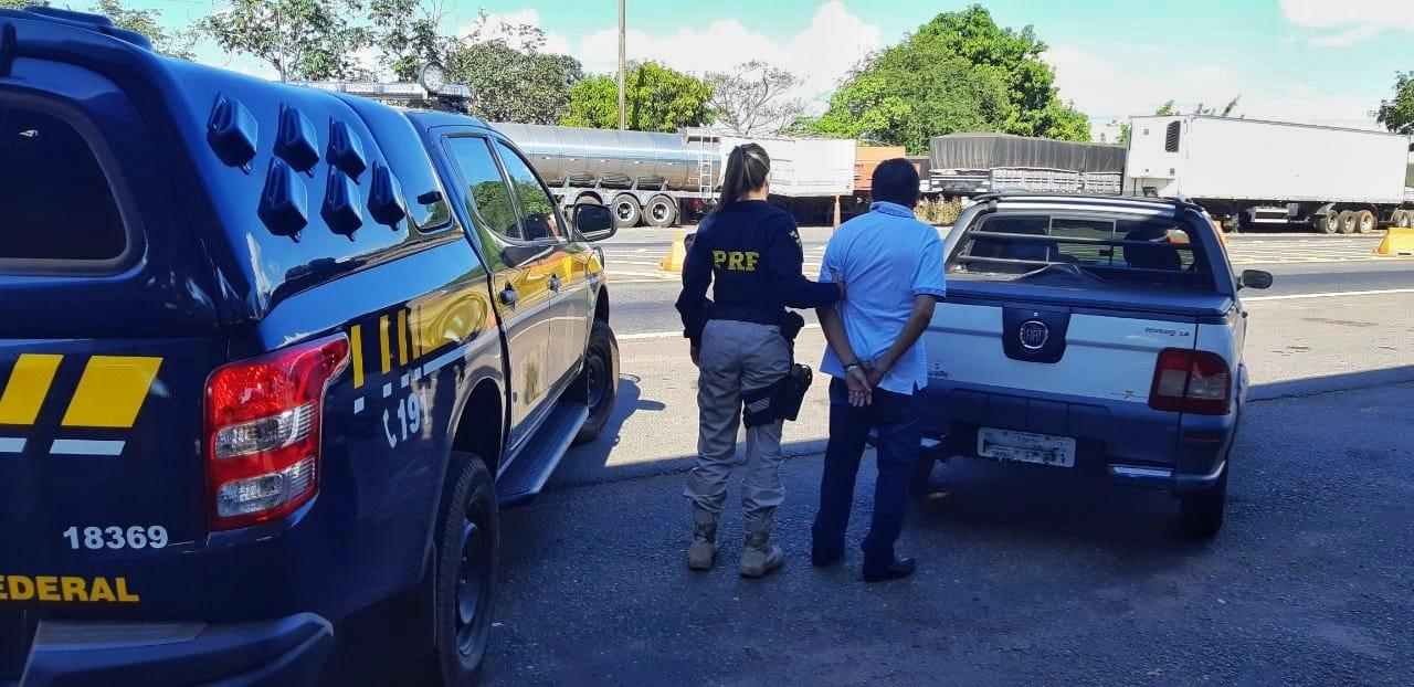 PRF de Guaraí flagra condutor de pick-up dirigindo embriagado em trecho da rodovia BR-153
