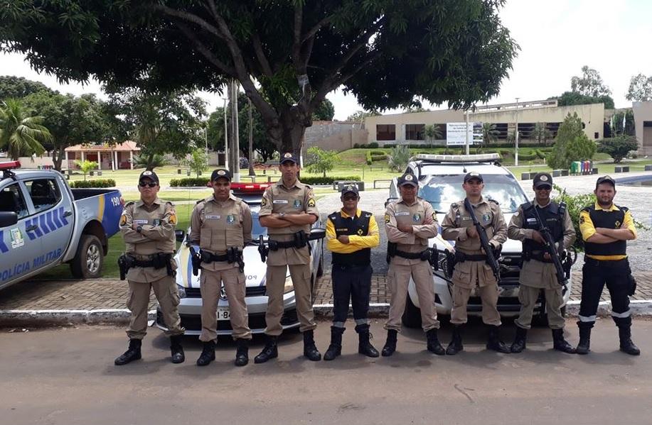 Foto: Divulgação/7º BPM de Guaraí - Veículo teria sido recuperado durante uma abordagem de rotina, enquanto policiais participavam de uma aula prática de inspeção veicular.