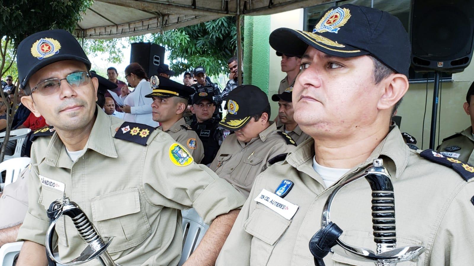 7º BPM de Guaraí tem novo comandante; sai Cândido Marques e assume Autieres Bezerra