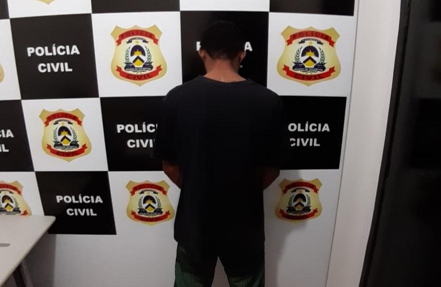 Preso em flagrante, individuo confessa que matou jovem em Guaraí com golpes de machado