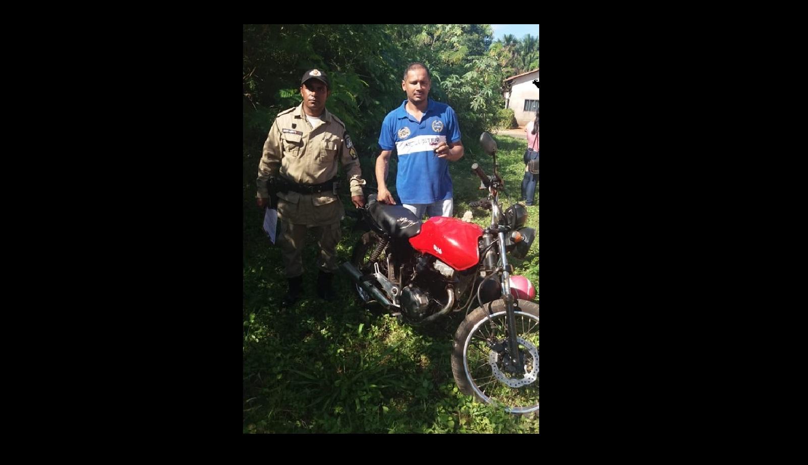 Graças a denúncia no 190, vítima recupera moto antes de registrar ocorrência em Guaraí
