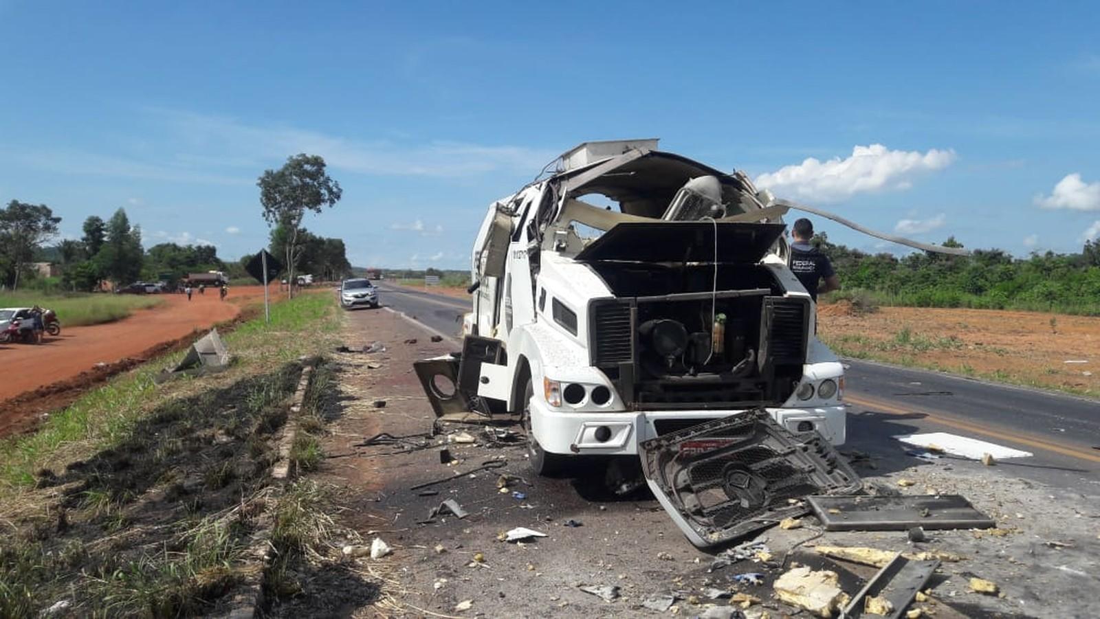 Dois suspeitos de dar suporte para assalto à carro-forte na BR-153 são presos em Guaraí