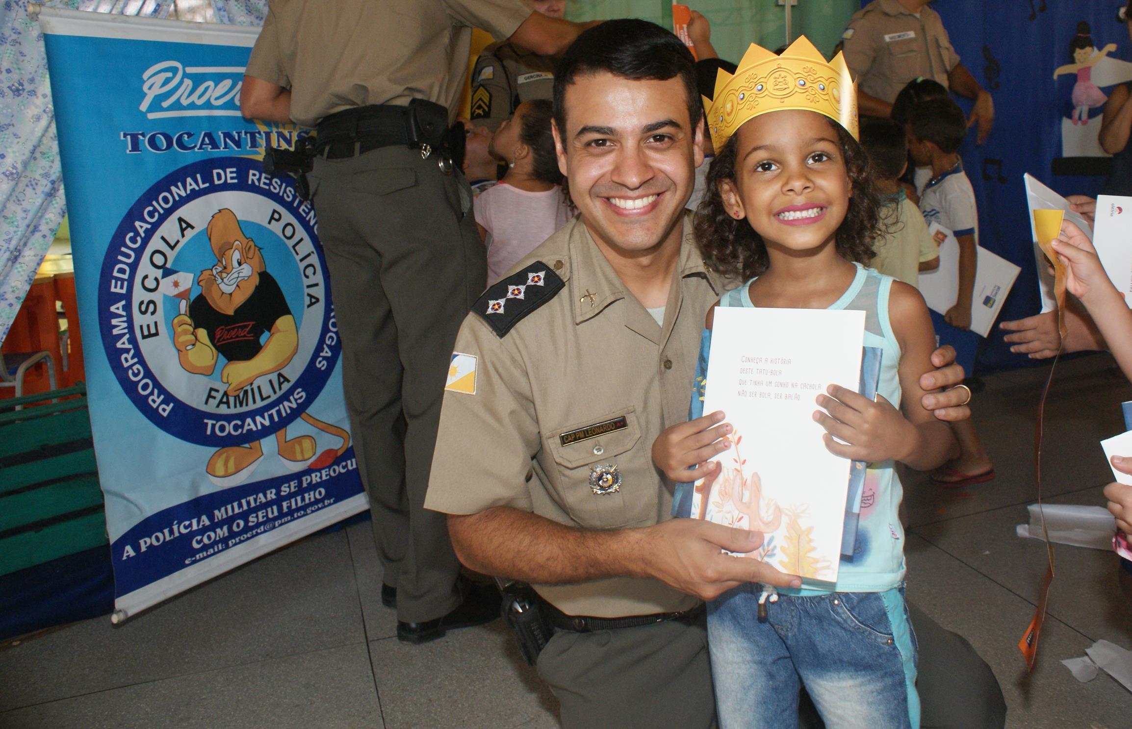 Fundação militar vai distribuir mais de 7 mil livros em escolas do Tocantins, incluindo em Guaraí