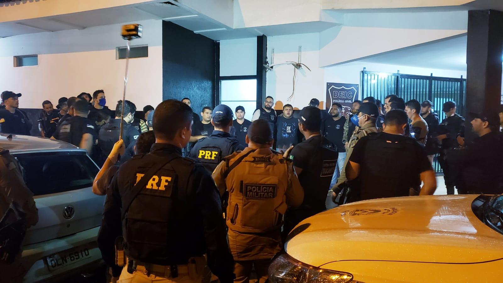 Detentos que fugiram da CPP de Guaraí se entregam e libertam reféns após intensas negociações