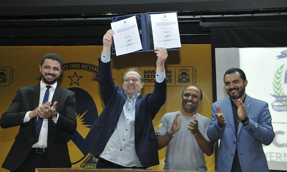 Mauro Carlesse faz balanço ao completar 100 dias como governador do Tocantins