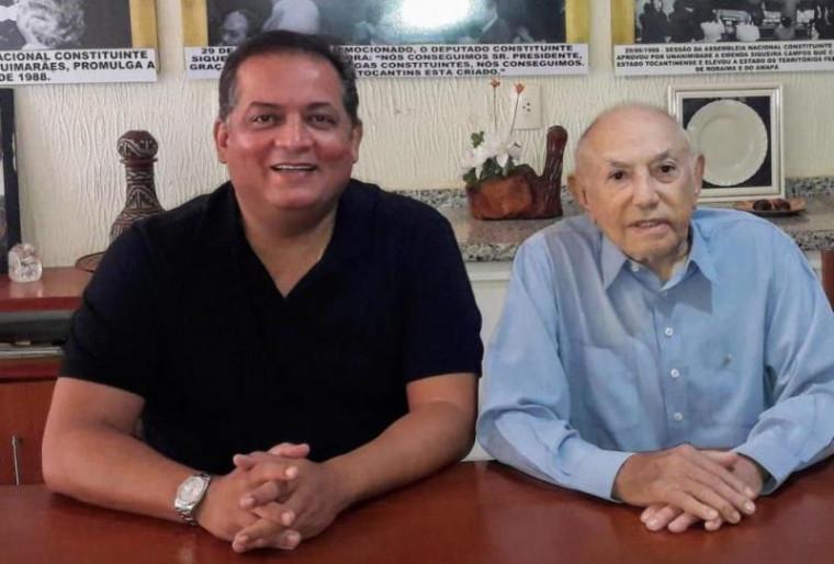 Eduardo Gomes assume cargo no Governo do Tocantins e Siqueira Campos vira senador