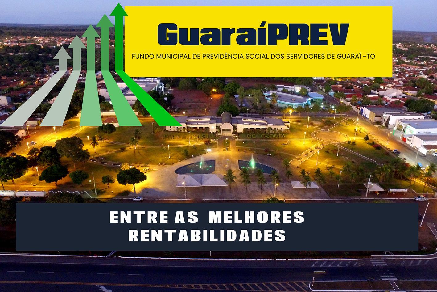 Com R$ 9,4 milhões de patrimônio líquido, GuaraíPREV é um dos mais rentáveis do Tocantins