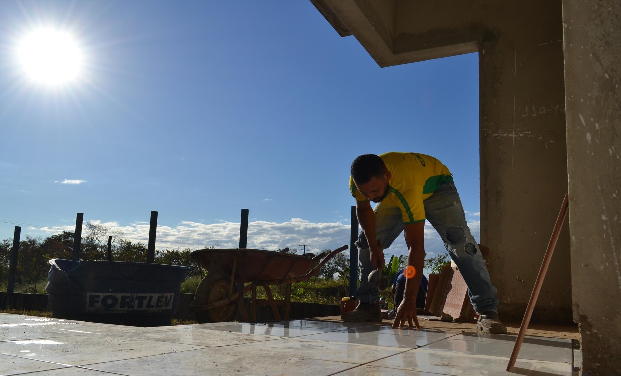 Iniciada em 2014, obra de construção do CRAS é retomada pela Prefeitura de Guaraí