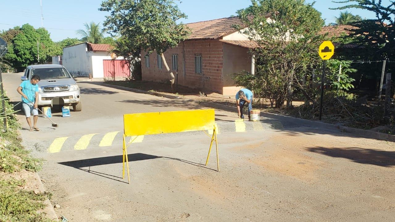 Condutores devem ter atenção com novos quebra-molas que estão sendo instalados em Guaraí