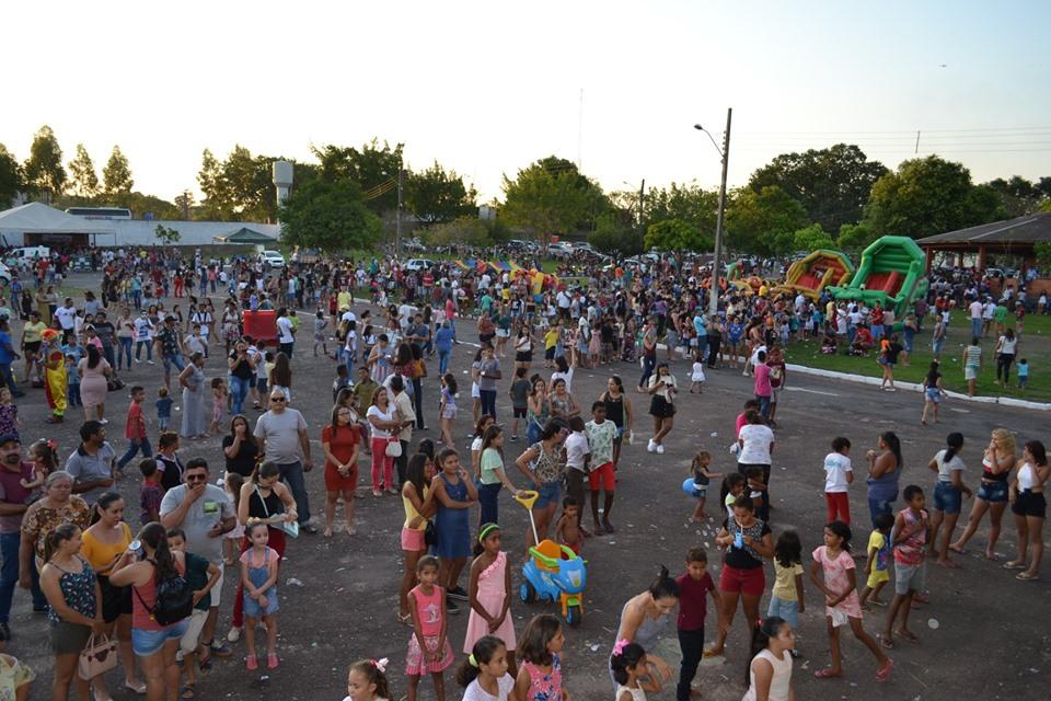 Comemoração do Dia das Crianças em Guaraí atrai grande público ao Parque de Exposições