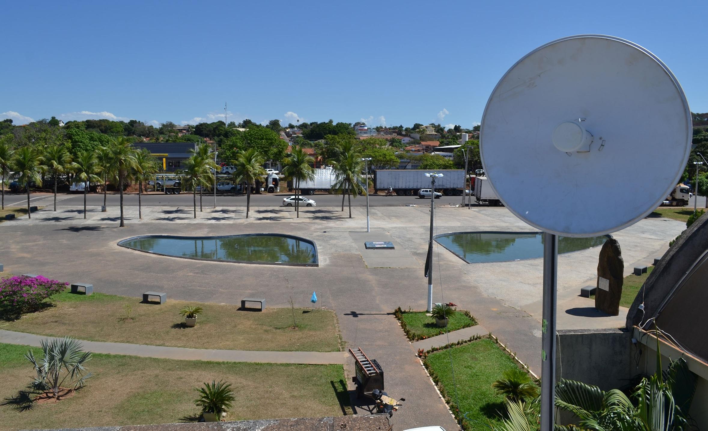 Inaugurada em abril, praça da Prefeitura de Guaraí agora também oferecerá Wi-Fi para visitantes